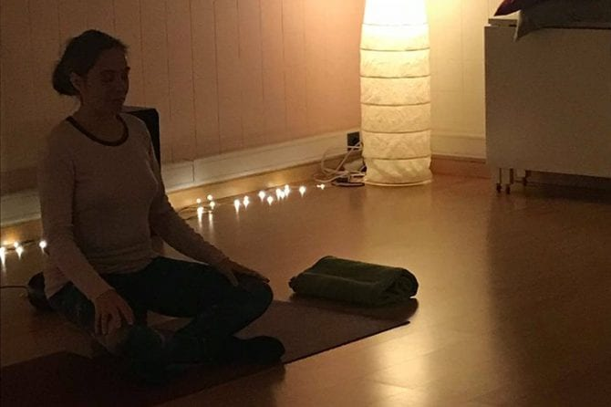 Recomeçámos as nossas aulas de Yoga!